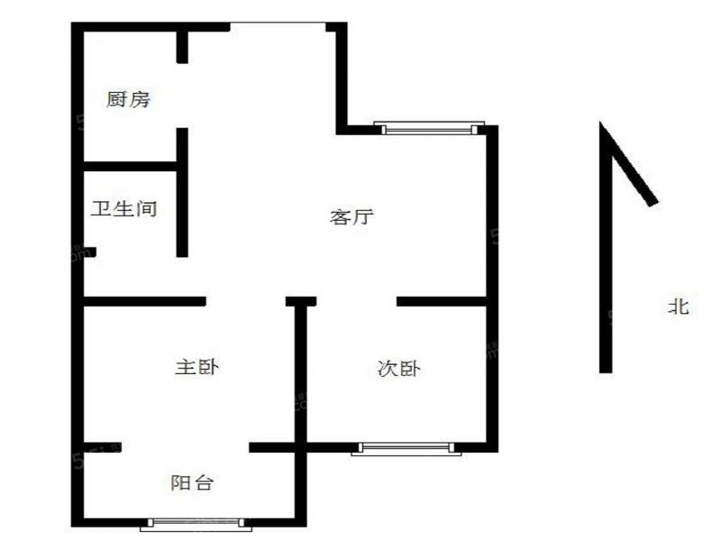 40 单价(万/m) 2室1厅 户型 55 面积(m) 小区:银龙鑫苑 楼层:中楼层