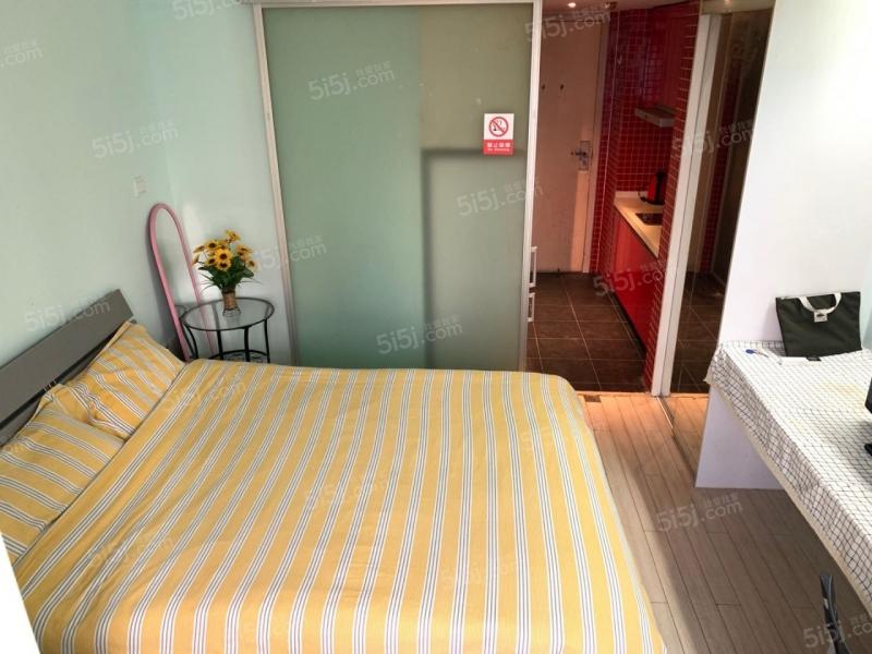 珠江路丹凤街木马公寓精装单室套家电齐全拎包入住