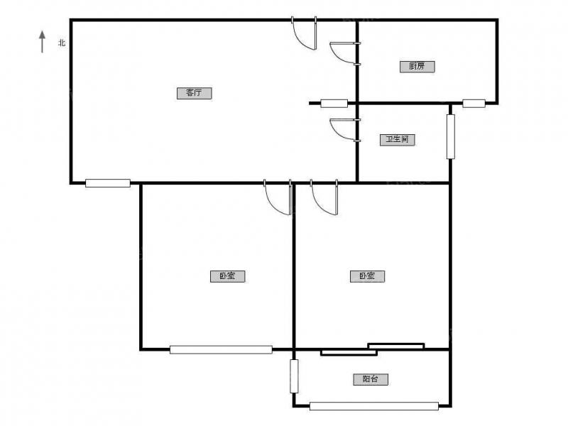 常州我爱我家金百花园丨精装两室,看房方便,采光好第9张图