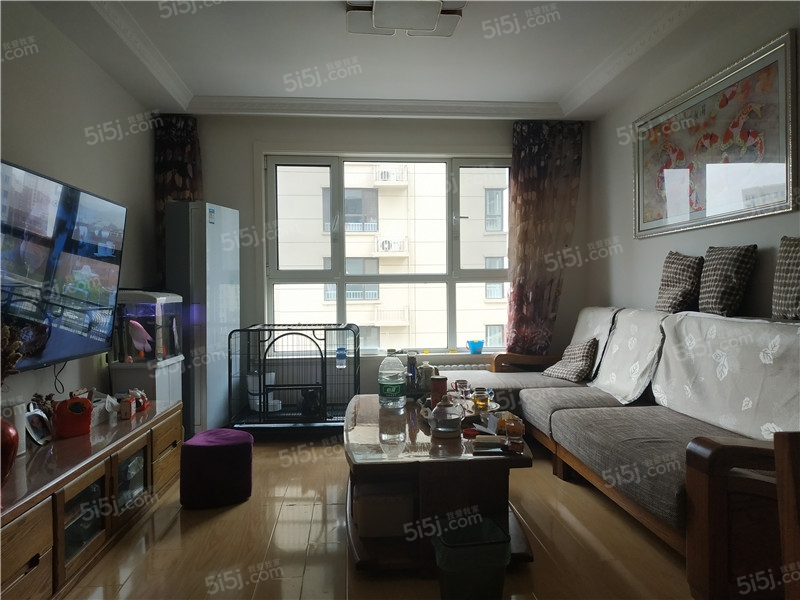 青岛我爱我家海怡新城锦云苑精装三居室东明厅 正规商品房 诚心出售第1张图