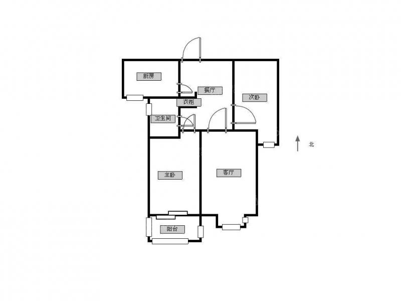 常州我爱我家金百花园丨精装两室,看房方便,BRT,万达旁。第12张图