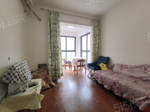 棠湖春天对小区中庭,全采光朝南,客厅带阳台标准小套二
