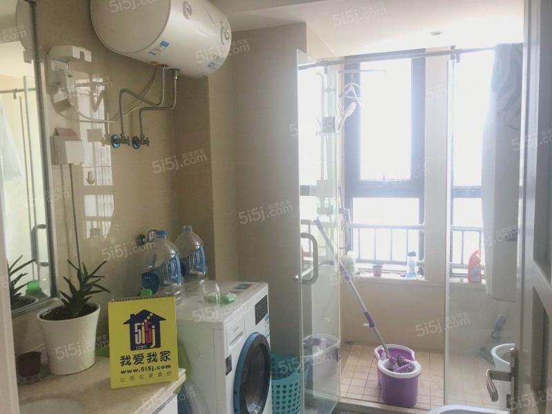 青岛我爱我家万达公馆一室一厅精装修68平方带阳台卫生间带窗户第4张图