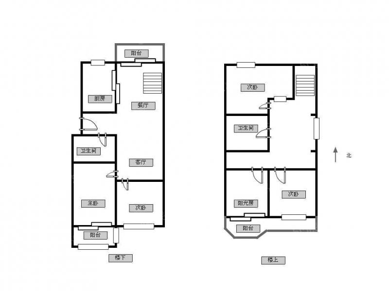 常州我爱我家新出电梯房顶楼复式简装4房三厅宜人三代同堂居住有钥匙随时看第15张图