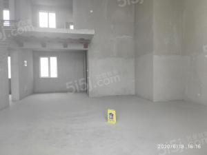 青岛我爱我家海上嘉年华前排海景房无遮挡,客厅开间6米,5.8米挑空