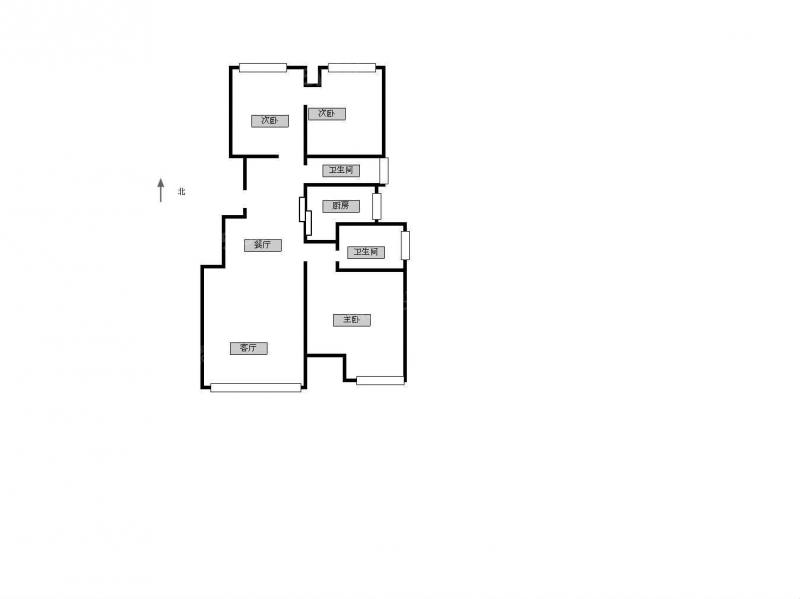 常州我爱我家弘阳广场旁 新城长岛小高层豪装三房 房东置换诚心出售第13张图