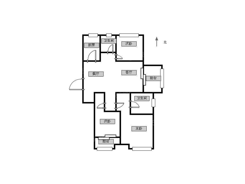 常州我爱我家新城金郡三室129平5500元 拎包即住 近正衡靠地铁第13张图