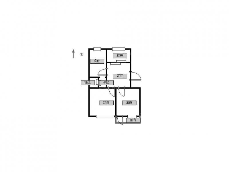 常州我爱我家上庄路城北新村旁(北环西路)精装三室 采光好 低楼层第10张图