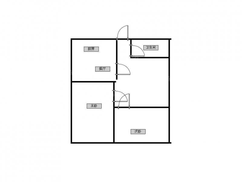 青岛我爱我家天泰阳光海岸 精装两室 生活方便 非常适合居住第7张图